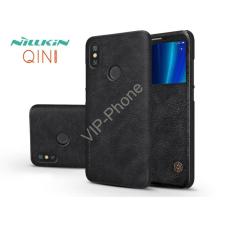 Nillkin Xiaomi Mi A2 oldalra nyíló flipes tok - Nillkin Qin - fekete tok és táska