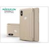 Nillkin Xiaomi Mi Mix 2S oldalra nyíló flipes tok - Nillkin Sparkle - gold