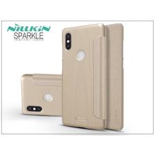 Nillkin Xiaomi Mi Mix 2S oldalra nyíló flipes tok - Nillkin Sparkle - gold tok és táska
