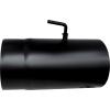 Nincs Besorolás Vegyestüzelésű kazánhoz acél füstcső huzatszabályzóval 160/0,25 m