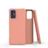 Nincs info Samsung Galaxy S20 Plus ütésálló szilikon tok, narancs