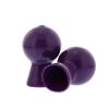 Nipple Sucker Pair in Shiny Purple