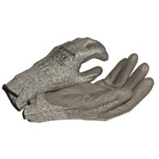 NMSafety PU tenyérmártott, nylon VÁGÁSÁLLÓ (3-as szintű, EN 4342) kesztyű, XL-es;mk-tools