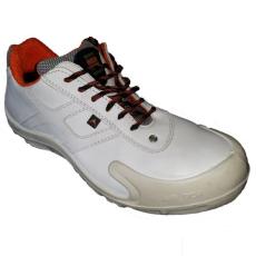 NO RISK Corvette fehér munkavédelmi cipő S3 bőr