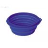 Nobby összecsukható szilikon tál 1 l/16 cm kék