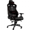 NOBLE CHAIRS Noblechairs EPIC Gamer szék, Fekete/Piros (NBL-PU-RED-002)