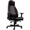 NOBLE CHAIRS Noblechairs ICON Gamer szék, Fekete/Piros (NBL-ICN-PU-BRD)