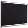 """NOBO Habtábla, tűzhető, fekete, 60x90 cm, alumínium/műanyag keret, NOBO """"Prestige"""""""