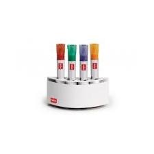 NOBO Mágneses tolltartó, 4db marker tárolására, NOBO tolltartó