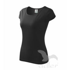 Női póló-fekete