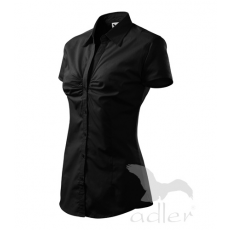 Női rövid ujjú ing- fekete