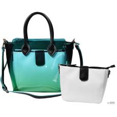 Női táska, Fekete/türkíz