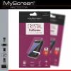 Nokia 3, Kijelzővédő fólia (az íves részre is!), MyScreen Protector, Clear Prémium
