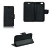 Nokia 3, Oldalra nyíló tok, stand, Fancy Book, fekete