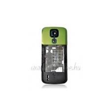 Nokia 5000 középső keret hangszóróval rezgővel zöld kameratakaróval (swap) mobiltelefon kellék