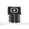 Nokia 6060 billentyűzet fekete (swap)