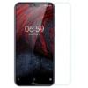 Nokia 6.1 Plus (X6 2018) üvegfólia, ütésálló kijelző védőfólia törlőkendővel (0,3mm vékony, 9H)