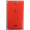 Nokia Asha 503 akkufedél narancs*