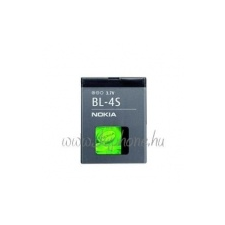 Nokia BL-4S gyári akkumulátor (860mAh, Li-ion, 7020,  X3)* mobiltelefon akkumulátor