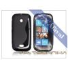 Nokia Lumia 510 szilikon hátlap - S-Line - fekete