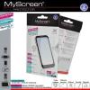 Nokia Lumia 530, Kijelzővédő fólia - 2 db/csomag (Crystal/Antireflex)