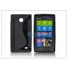 Nokia Nokia X szilikon hátlap - S-Line - fekete