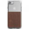 Nomad Clear Case tartós tok iPhone 8 / 7 - barna