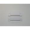 Noname Nyitásérzékelő (FF02), műanyag felületreszerelt, fehér, réstávolság: 20mm