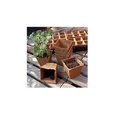 Nortene GROWING POTS tőzegcserép (14db, 8x8cm) kerti dekoráció