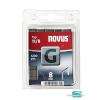 Novus tűzőkapocs G 10,6x1,2mm 8mm 1200db-os