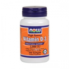 Now Foods D-3 vitamin 2000 IU 120 db vitamin