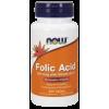 Now Foods Folic Acid 800 mcg with Vitamin B-12 (250 tabletta)