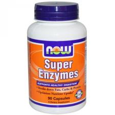 Now Foods Super Enzymes (90 kapszula) vitamin és táplálékkiegészítő