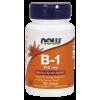 Now Foods Vitamin B-1 100mg (100 tabletta)