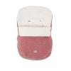 Nuvita AW Ovetto Buggy bundazsák 80cm - Pink Velvet / Beige - 9245