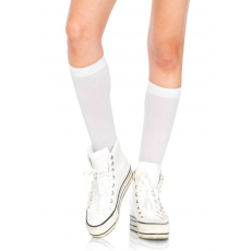 Nylon Knee Highs - WHITE - O/S - HOSIERY