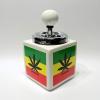 Nyomós kerámia hamutartó Cannabis