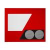 NZXT Phantom oldal ablak piros