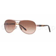 Oakley OO4079-01 FEEDBACK ROSE GOLD VR50 BROWN GRADIENT napszemüveg