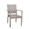 Objekt-M Mezino műrattan kerti szék, melírozott szürke