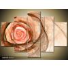 Odea.hu Rózsaszín rózsarajz vászonkép 150x105 5 részes