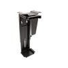 OEM asztali / falra szerelhető PC-tartó, fekete, 10 kg-ig