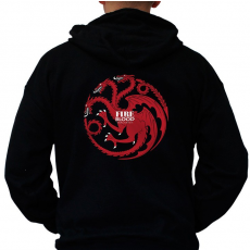 OEM Game of Thrones Kapucnis Pulóver - Targaryen XL férfi