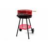 OEM Kerti faszenes grillsütő - piros