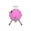 OEM Kerti kerek mini grillsütő – rózsaszín