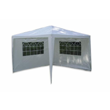 OEM Kerti parti sátor – fehér 3 x 3 m + 2 oldalfallal