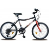 """Olpran Vikki 20"""" Gyermek kerékpár, Fekete"""