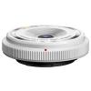 Olympus M.Zuiko 9mm f/8.0 halszem vázsapka objektív (fehér)