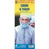 Omán, Jemen és az Egyesült Arab Emirátusok térkép - iTM
