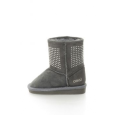 OMS by Original Marines , 73GREY-AUSTR-GREY, Children booties and boots, Sötétszürke, 30 EU (73GREY-AUSTR-GREY-30)